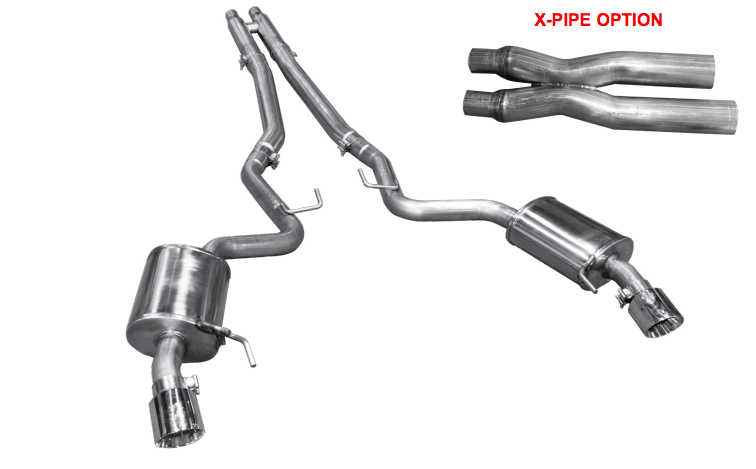 ARH S550 Ford Mustang 5.0L Coyote Catback System (2015-2018)