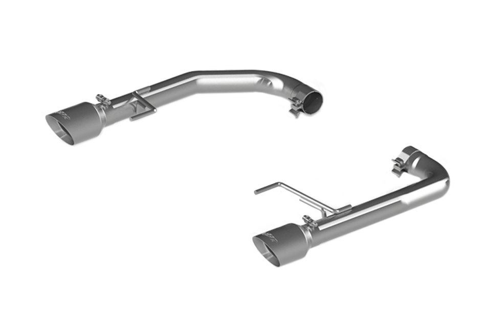 mbrp s7276304 mustang gt pro series axle back exhaust race version 2015 2017