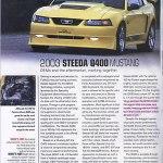 Motor Trend Article – Steeda Q400