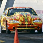 Darrell Peterson dominating Fun Ford Weekend Street Warrior Class
