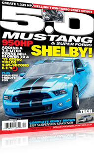 5.0 Mustang Cover