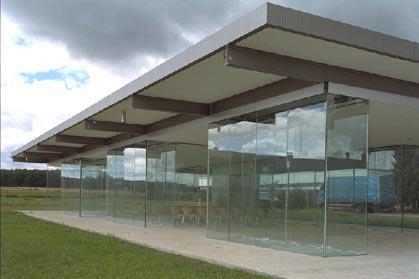 steel engineering  referenzobjekte  stahlglas  sommerakademie glasfachschule rheinbach