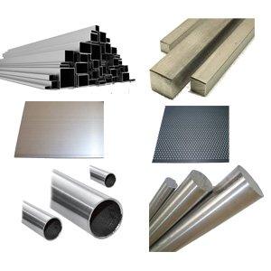 Rohmaterialien - Rohre, Bleche, Rund und mehr