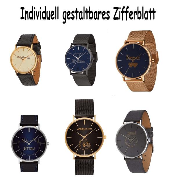 Vorschaubild Uhren mit Gravur