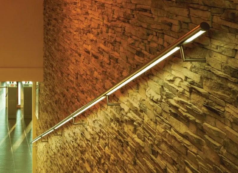Edelstahl LED Handlauf Beispiel 1
