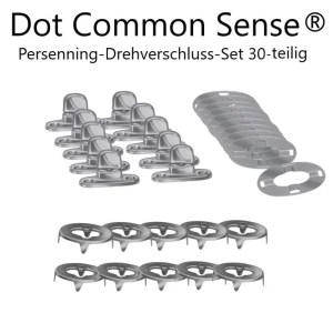 Dot Common Sense 30-tlg. Set mkt Drehverschlüsse zum verschrauben