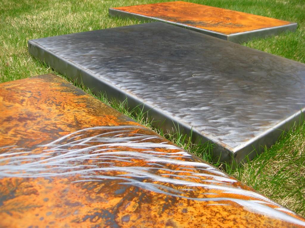 metal artist rusted art metal wall art by danno