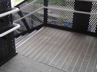 Steel Grating Stair Treads and Flooring for Industrial ...