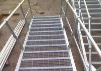 Stair Tread Steel Grating for Industrial Application