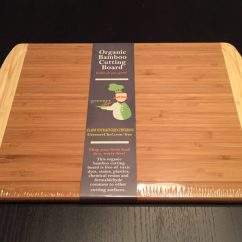 Kitchen Cutting Board Wooden Table And Chairs Greener Chef Review Steelblue