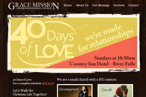 Grace Mission Website