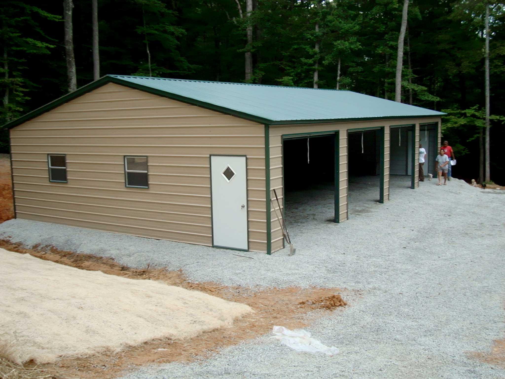 Steel Building Kits and Metal Buildings by Steel Building Garages