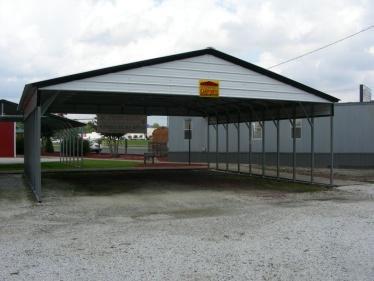 Types Of Metal Buildings Steel Building Garages