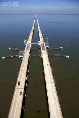Lake Pontchartrain Causeway draw bridge section