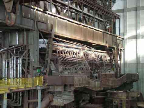 Siemens Martin Steel Oven