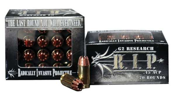 .45 ACP | G2 Research RIP - HP - 158 Grains - 20 Rounds