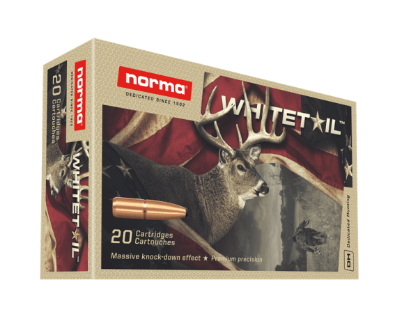 6.5MM CREEDMOOR 140 GR WHITETAIL NORMA – QTY 20