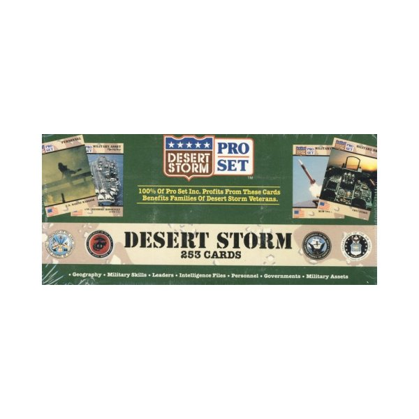 1991 Desert Storm 4th Of July Salute Limited Edition