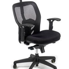 Zeta Desk Chair Ergo Zt032 Steelco