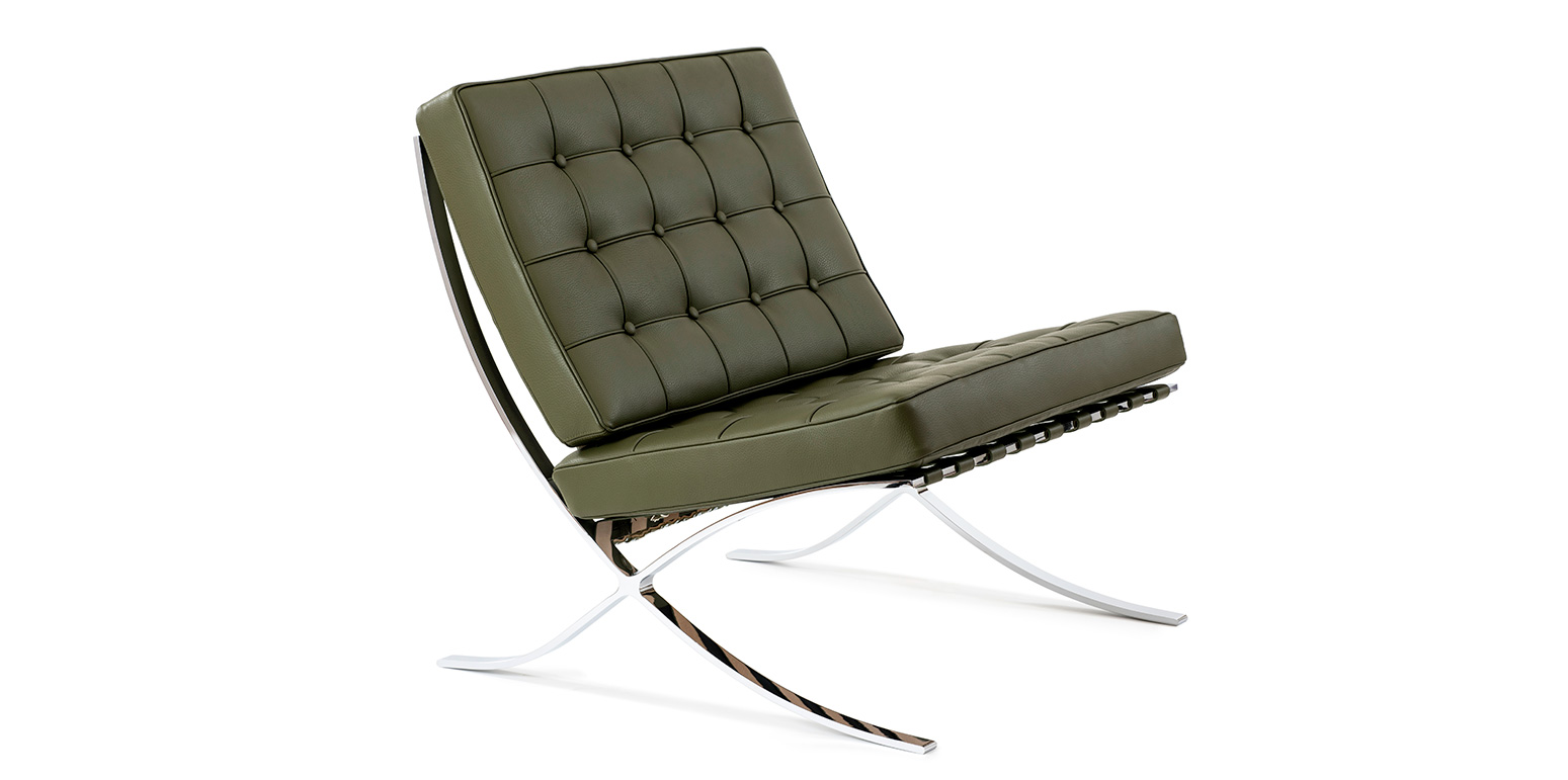 mies van der rohe barcelona chair gravity replacement cord reproduction by ludwig