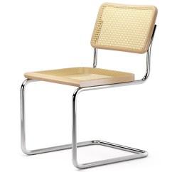 Marcel Breuer Cesca Chair With Armrests Ergonomic No Back Stoel Van