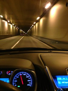 Tunnel Vision - Leaving Ohio, Entering West Virginia.  Destination North Carolina