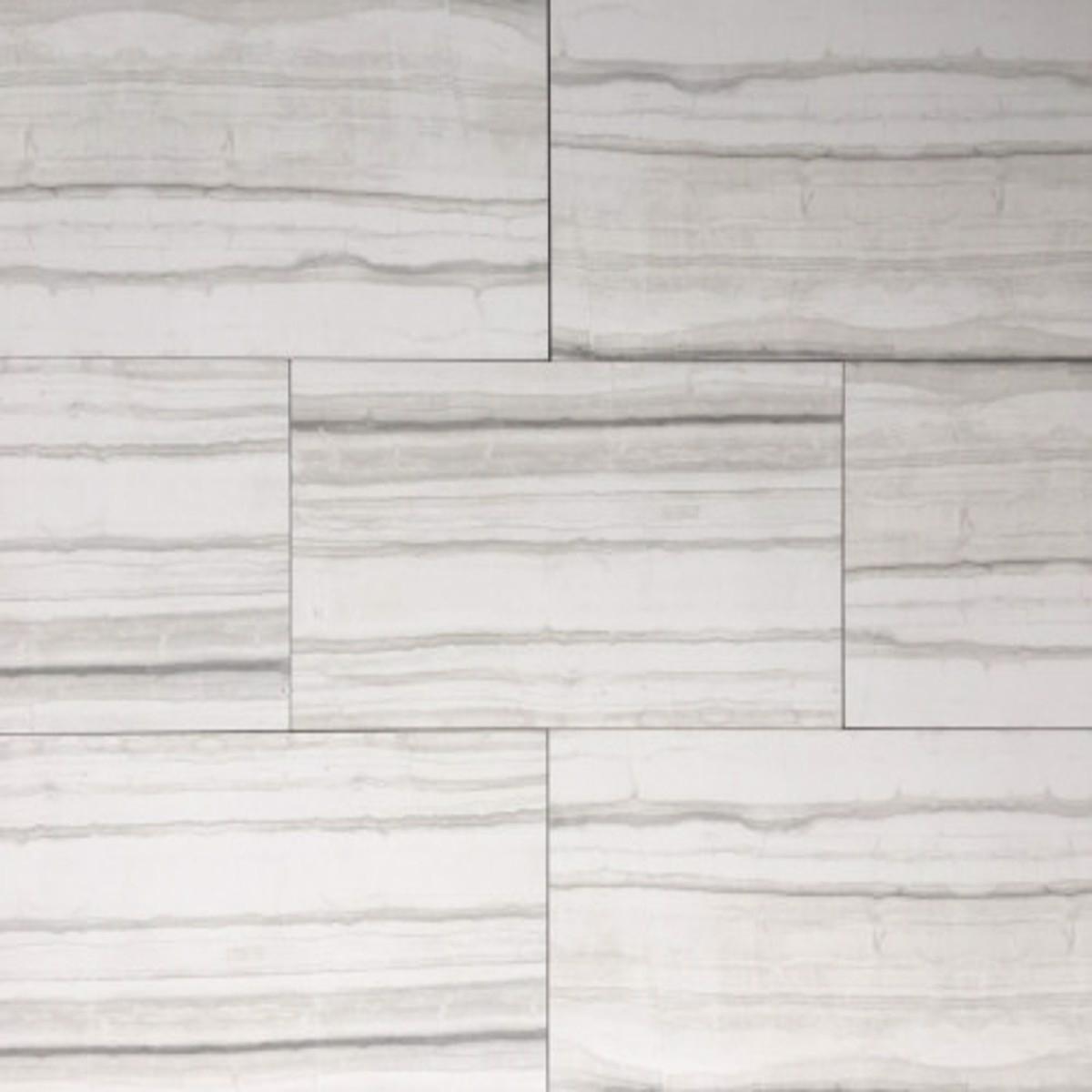 12x24 brown gray white polished denver ice floor wall porcelain tile