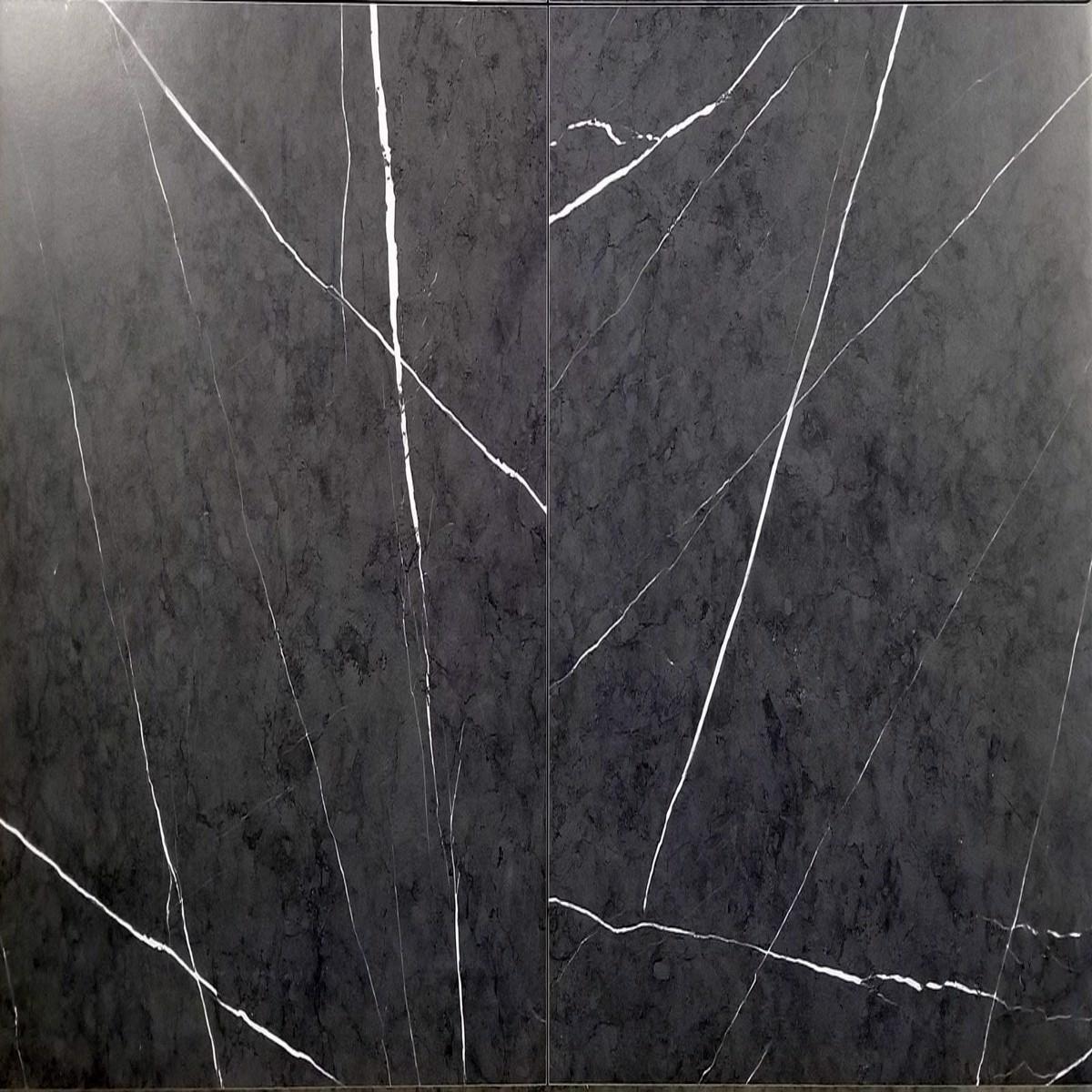 24x24 black white primo charcoalsmooth matt floor wall porcelain tile