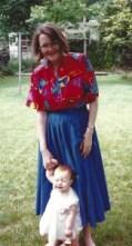 Mom and Sami '90