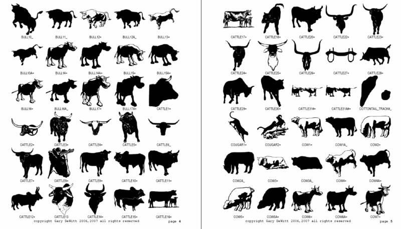 arha673jaz: silhouettes of animals