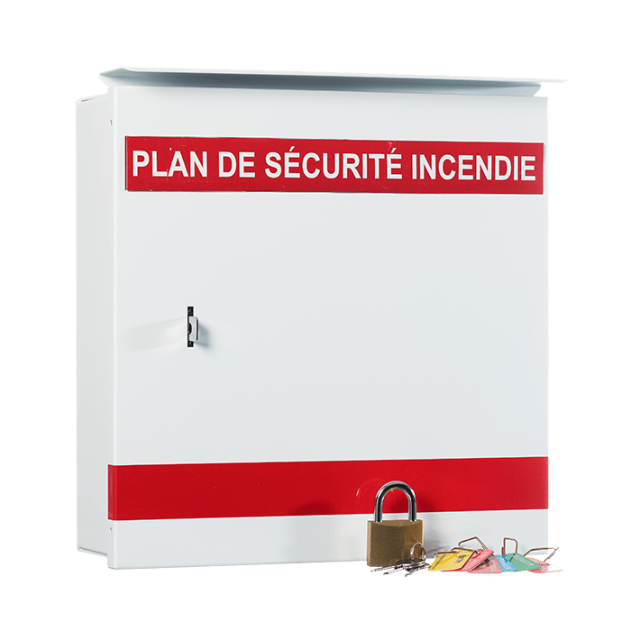 Fire Safety Plan Boxes : Steel Fire Equipment