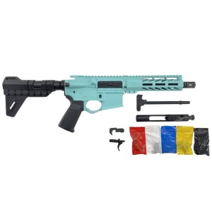 AR-15 Cerakote Tiffany Blue Pistol KIT