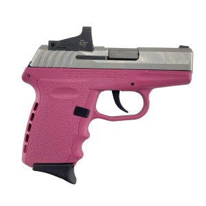 SCCY CPX-2 9MM Pistol CPX-2TTPKRD- PinkStainless