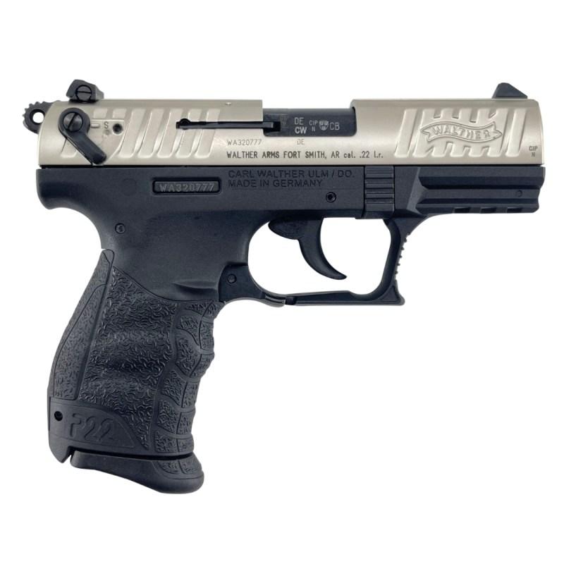 Walther P22 CA Nickel .22LR
