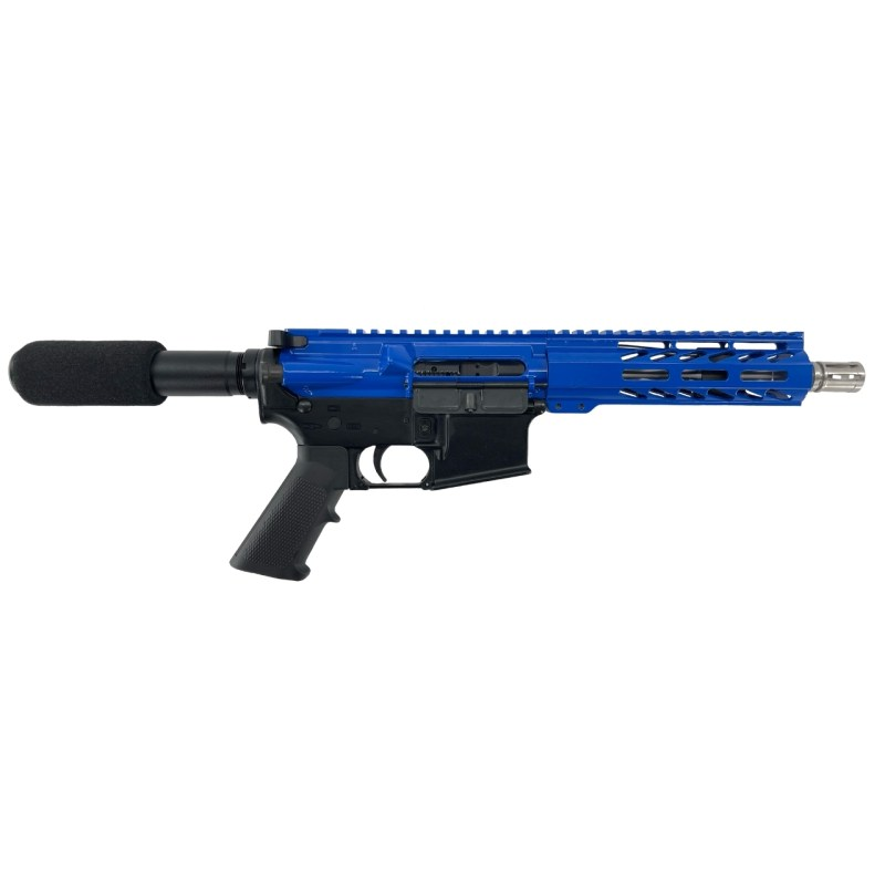 "Matrix Arms .223 Wylde 7.5"" AR-15 Pistol - Blue"