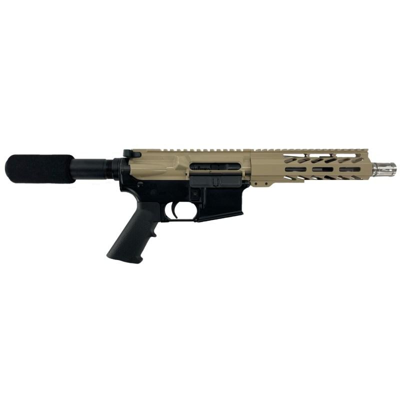 "Matrix Arms .223 Wylde 7.5"" AR-15 Pistol - Tan"
