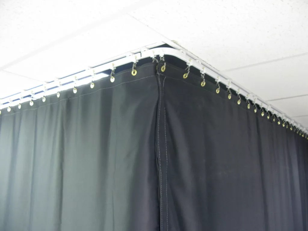 Light Blocking Industrial Blackout Curtains Commercial Grade