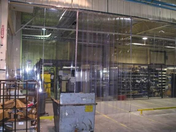 Custom Industrial Clear Plastic Curtains Amp Vinyl Walls