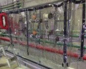 Chemical Safety Curtains Provide a Splash Barrier from a Variety of Caustic Acids