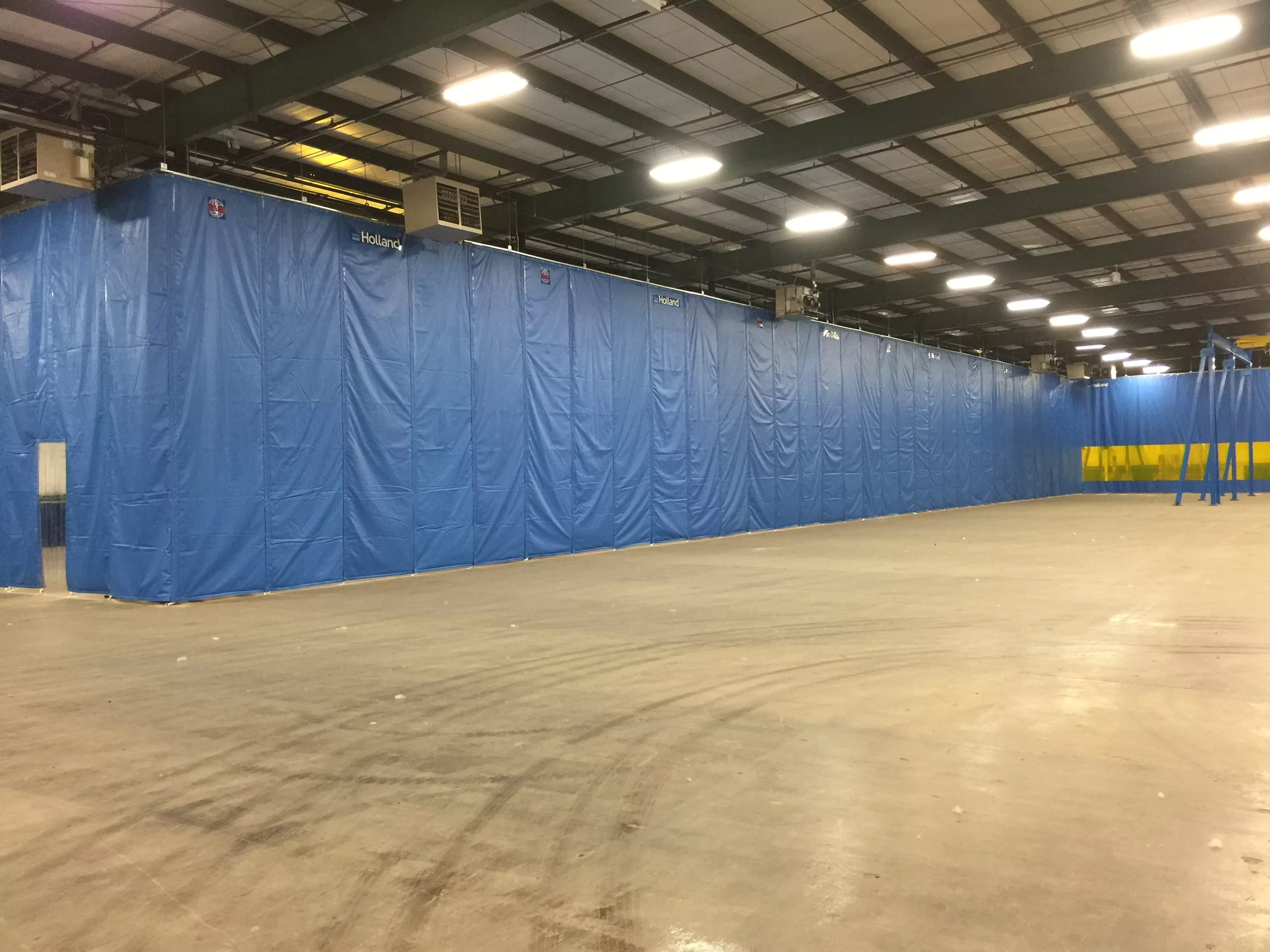 Folding Industrial Thermal  Insulated Curtain Walls