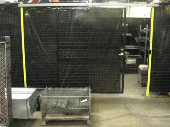 Machine Perimeter Guarding Wire Mesh Safety Fencing