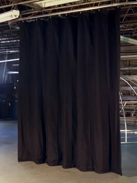 Light Blocking Industrial Black Out Curtains for Work Areas