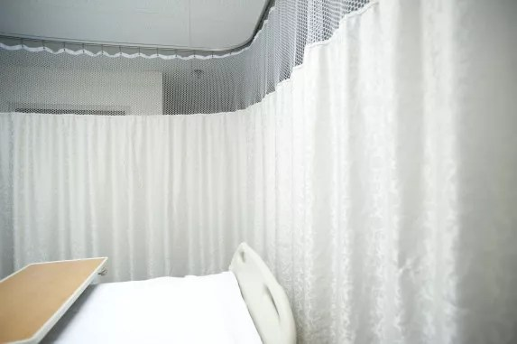 Hospital Cubicle Curtains for Patient Medical Bed Privacy