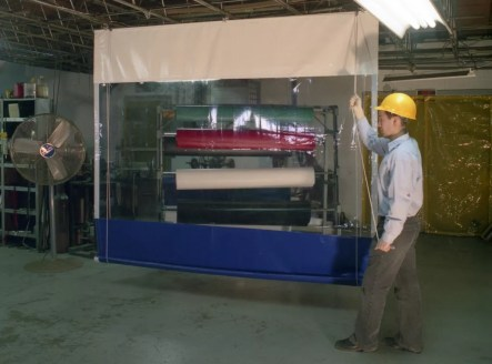 Keep your facility protected with some of the strongest Industrial vinyl roll-up curtains on the market.