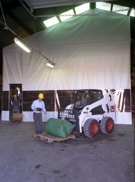 Industrial Warehouse Curtain Dividers Amp Commercial Vinyl Wall Panels