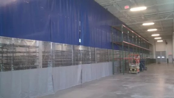 Warehouse Curtain Dividers  Commercial Vinyl Wall Panels
