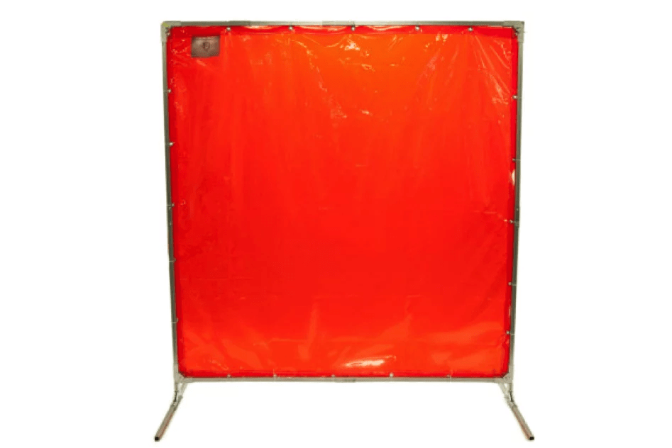 welding screens for protecting welders and temp control.