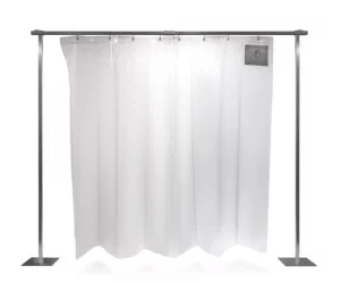 Accordion PVC strip curtains can be used to section of spaces to increase workflow and provide protection to equipment.