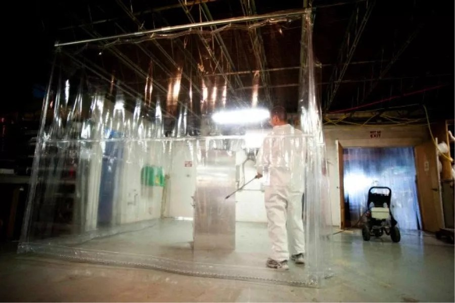 Chemical Resistant Safety Curtains