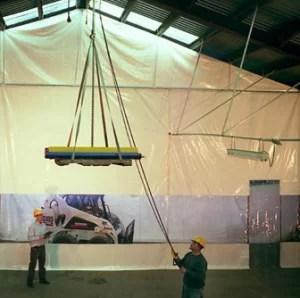 Industrial Warehouse Curtain Walls